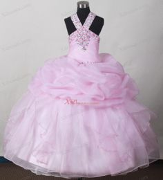 Sweet Baby Pink Little Girl Pageant Dresses