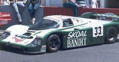 Le Mans 24 Hours 1984 33 - Porsche 956B #114 - Skoal Bandit Porsche Team. John Fitzpatrick racing. David Hobbs / Sarel van der Merwe / Philip Streiff. 3rd overall