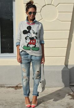 go fun and style Mickey Mouse