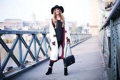 Get this look: http://lb.nu/look/8571977  More looks by A TRENDY LIFE: http://lb.nu/atrendylife  Items in this look:  Vi Pme Cardigan, Asos Sombrero, Chanel Bolso, Vi Pme Botines   #bohemian #casual #chic #traveloutfit #cardigan #cardiganlargo #hat #vipme #chanel
