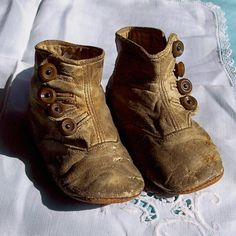 Vintage Baby Shoes