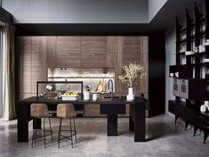 Cucina in legno INTARSIO - WILLIAMSBURG - THE 50'S By Cesar design García Cumini