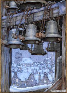 Church Bells - Anton Pieck