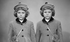 1950s identical twins