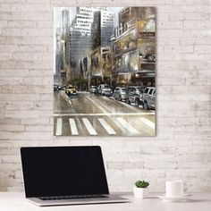 Portfolio Canvas Decor Rush Hour Part II by Emily Williams Wrapped Canvas Wall Art