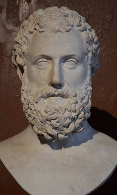 Greek Drama and Sculpture; Aeschylus (c. 525 - c. 456 BCE) was one of the great writers of Greek Tragedy in century BCE Classical Athens. Known as 'the father of tragedy'. Greek History, Ancient History, Battle Of Marathon, Classical Athens, History Encyclopedia, Greek Tragedy, Renaissance Era, Dark Ages, Ancient Greece