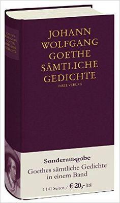 Sämtliche Gedichte Goethe (2007
