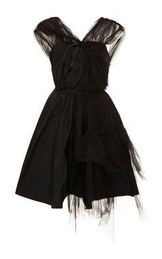 Radzimir and Tulle Dress by Nina Ricci