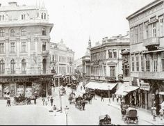 Bucharest XIX century (Vechiul Bucuresti) – Romania Dacia Paris, 19th Century, Street View, Architecture, Gallery, Building, Travel, Memories, Old Pictures