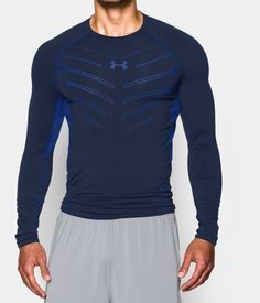 Men's UA HeatGear® Armour Exo Long Sleeve Compression Shirt | Under Armour US