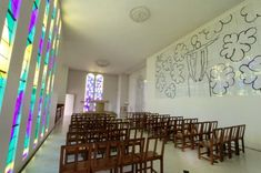La Chapelle du Rosaire de Vence (Chapel of the Rosary in Vence), France...Henri Matisse's Chapel...