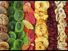 Conserver les légumes et les fruits grâce à la déshydratation - YouTube
