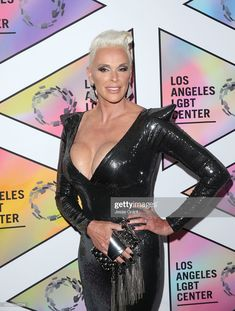 Brigitte Nielsen attends the Los Angeles LGBT Center's Anniversary Gala Vanguard Awards at The Beverly Hilton Hotel on September 2018 in Beverly Hills, California. Get premium, high resolution news photos at Getty Images Brigitte Nielsen, Lgbt Center, Andre The Giant, Star Wars, Red Sonja, The Beverly, Still Image, Presentation, Anniversary