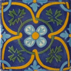 San Angel Inn 1 - Talavera Mexican Tile