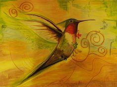 Art by Laura: koliberek