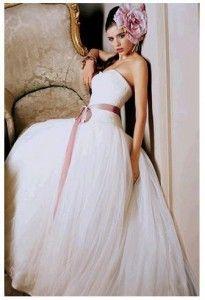 Purple sash wedding dresses Chicago - The Wedding SpecialistsThe Wedding Specialists