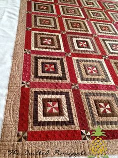 Riding the Storm Out Clover Schnibbles Quilted!Uncommonly Corduroy - Blog Book Tour