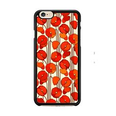 red poppy flower IPhone 6| 6 Plus Cases