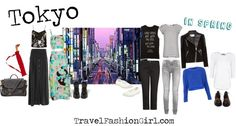 Packing List for Japan: Tokyo Travel TV Host Shares Her Fashion Tips! Japan in spring