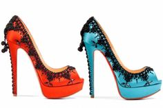 Christian Louboutin Mouse High Heel | Christian Louboutin Spring 2012 Collection