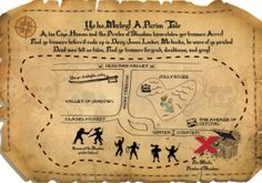 A Pirate Purim Party with tips on planning your party theme.