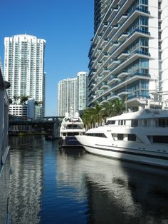 This is the mouth (beginning of the Miami River) it was the first place people settled and started business in Miami and now home to 1000s of condos and mega yachts!  I'm leading a property tour of the Miami River on Saturday!  Join us!  www.theprofessorrealestate.com