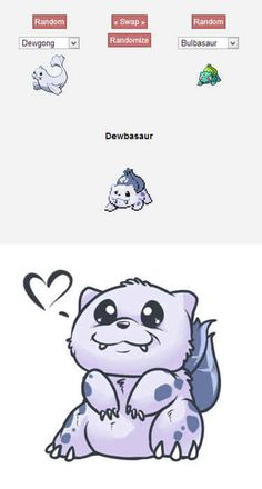 Dewbasaur   43 Pokemon Mash-Ups That Are Better Than The Real Thing