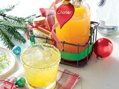 Pineapple Craft Cocktail with Lime Sea Salt Recipe | When poured into a glass bottle, this tangy mixer makes a fantastic hostess gift, especially when it's packaged with a batch of Lime Sea Salt and a bottle of tequila. This holiday season, instead of gifting peppermint bark or bourbon balls (although both delicious), give your friends and neighbors a unique homemade gift that they'll love. Although we're the biggest fans of Southern desserts and will never say no to a piece of pound cake or…