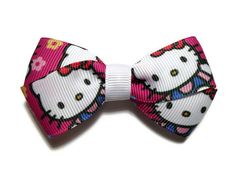3 Kitty Flower Boutique Hair Bow by mmslittleshoppe on Etsy, $3.00