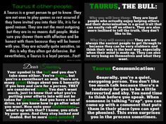 Taurus Traits #Taurus