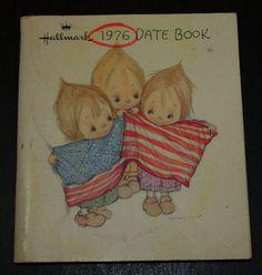 Vintage Hallmark Betsey Clark 1976 DATE BOOK Clean Inside SEE PICS! | eBay