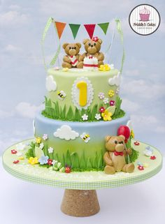 Teddy bears picnic birthday cake                                                                                                                                                                                 More