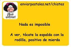 Chiste Nada es Imposible | Chistes de Texto para Enviar o Compartir por Whatsapp