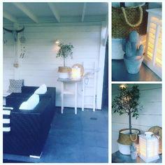 Gezellig hoekje  Tuin overkapping Love Home, Ladder Decor, Home Decor, Decoration Home, Room Decor, Home Interior Design, Home Decoration, Interior Design