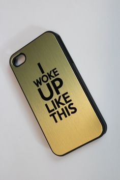 Gold+Typography+I+Woke+Up+Like+This+Flawless+Beyonce+by+LittleLots,+$15.00