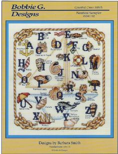 Cross stitch Nautical ABC