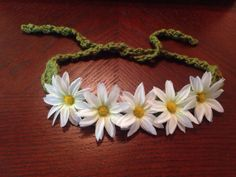 Small Daisy Crown on Etsy, $10.00