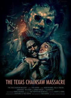 The Texas Chainsaw Massacre Great Leatherhead POSTER