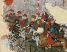 Trębacze na czele chorągwi husarskiej. Lithuania, Poland, Crown, Painting, Art, Art Background, Corona, Painting Art, Kunst