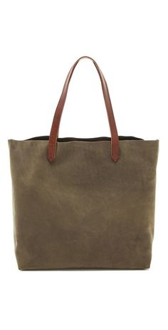 Madewell Transport Tote   SHOPBOP