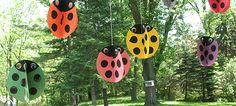 Swirling Twirling Ladybugs - Crafts by Amanda