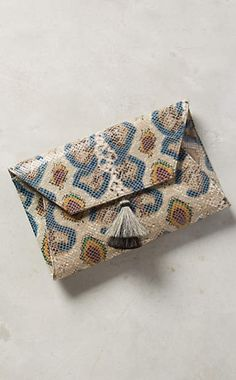 Embossed Narcissa Clutch #anthrofave