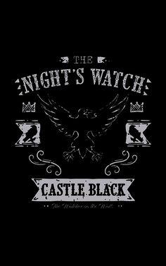 Castle Black Banner