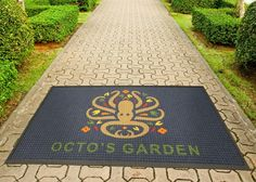 Make an Impression with an Outdoor Logo Rug!