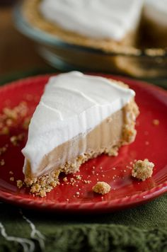 Butterscotch Pretzel Pie - sweet and salty combo by SeededAtTheTable.com