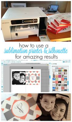 Sublimation printer and Silhouette Studio