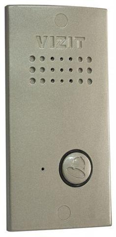 Вызывная панель VIZIT БВД-411А БВД-411А Блок вызова VIZIT БВД-411А используется как составная часть домофона VIZIT для 1 абонента. Подсветка кнопки вызова.Технические характеристики:блок вызова БВД-411А используется как составная часть домофона VIZIT для 1 абонента; звуковая индикация режимов работы; дуплексная громкоговорящая связь с абонентом; подсветка кнопки вызова; открывание замка при нажатии кнопки для открывания замка на УКП или мониторе; габаритные размеры, мм, (ШхВхГ) - 70х140х35…