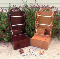 Hand Made Vintage Style Yarn Box for Knitting and by TexasYarnFarm, $75.00