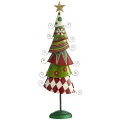 $17.48 Painted Layer Whimsy Tree... for the christmas party next year?
