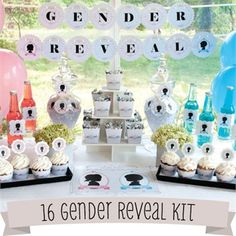 I'm SO doing a gender reveal party next time no one will know until the party